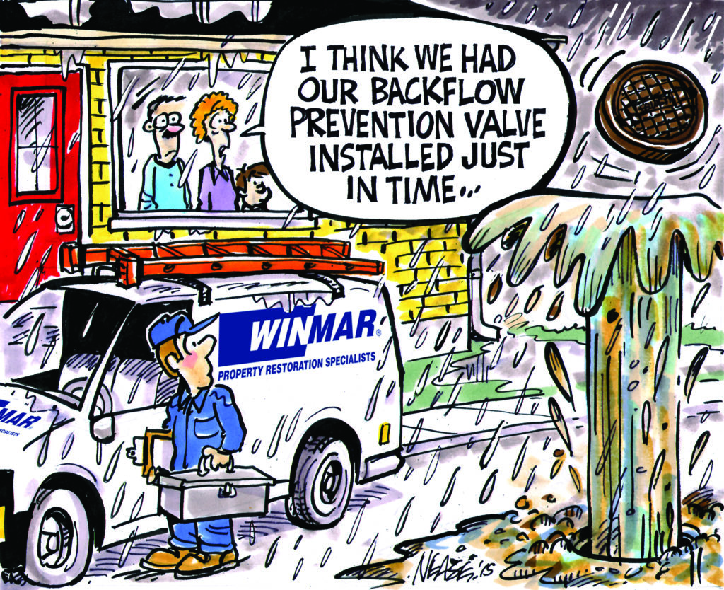 Disaster Preparation Cartoon